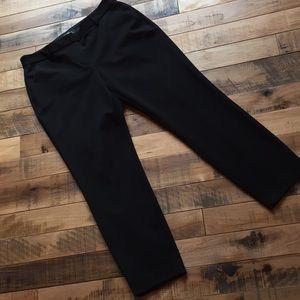Express Columnist Ankle Pants Black Size 12R